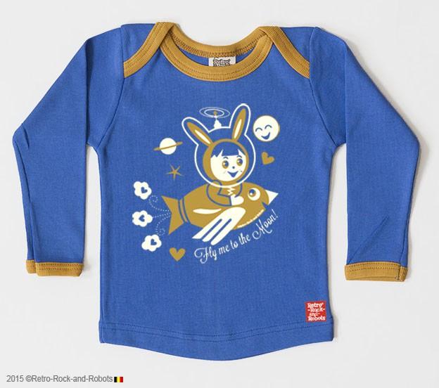 T-shirt Moon Love