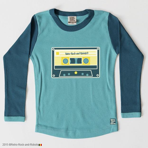 T-shirt Music Tape laguna