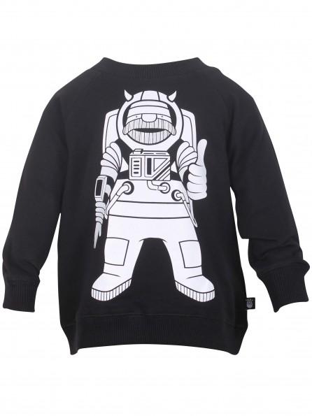 ASTRO ERIK zwarte sweater