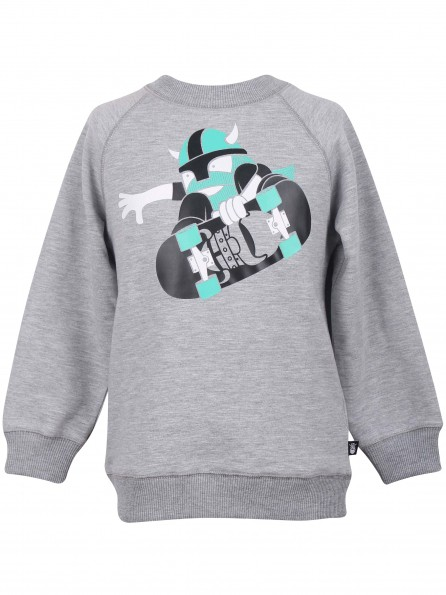 SKATE grijze sweater