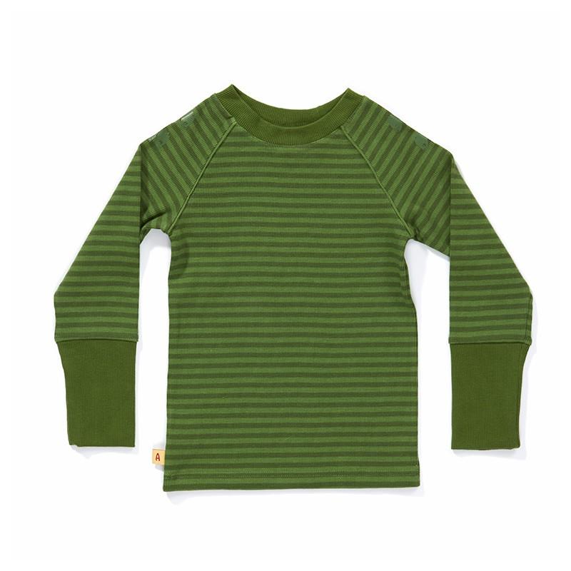 Dalle longsleeve groen