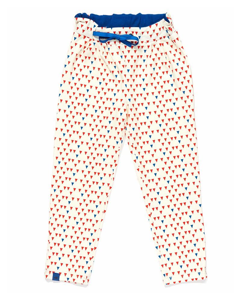 Eya Pants - Blue/Red