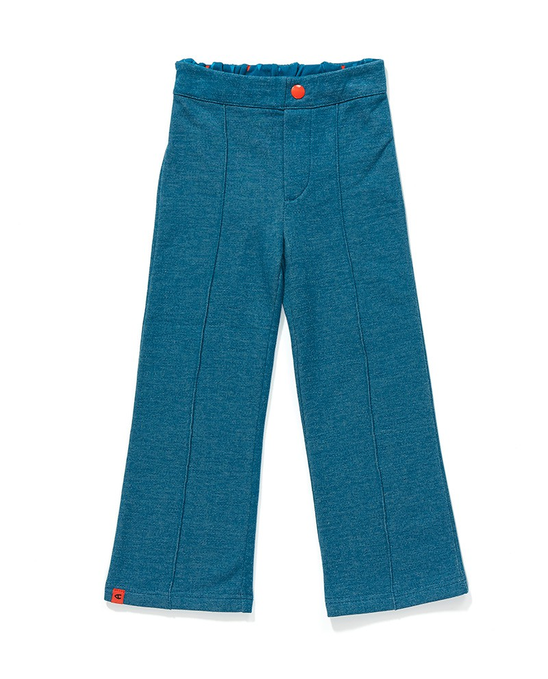 Fegte box pants blue