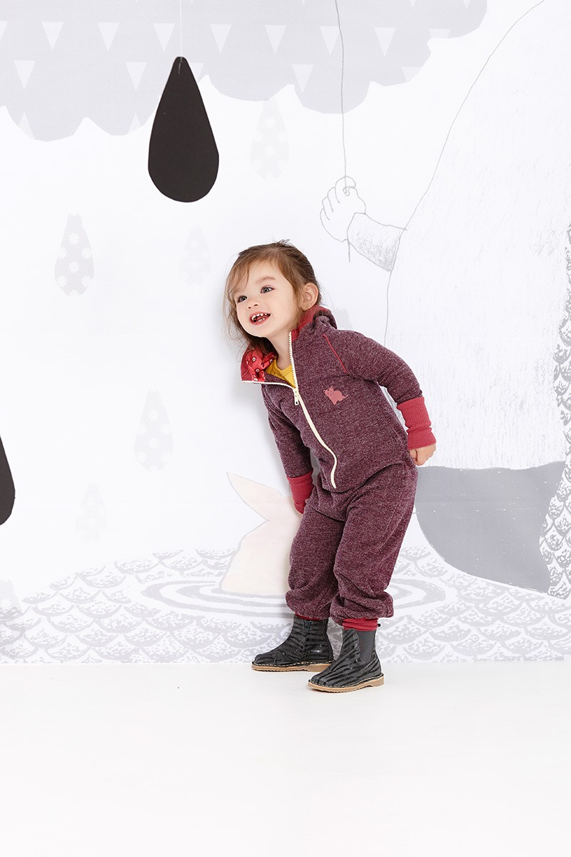 Fally jumpsuit paars
