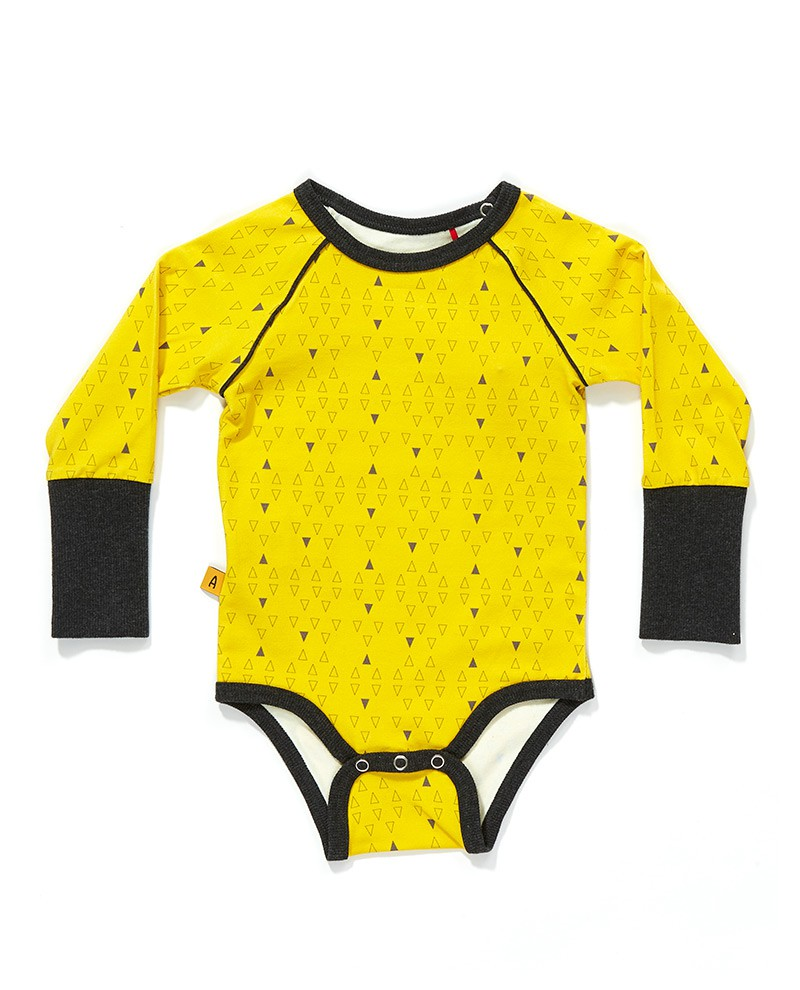 Freddie body yellow triangle