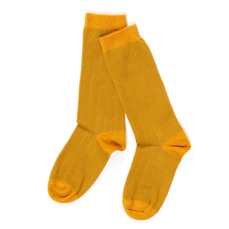 Herle Knee Socks Lemon Curry