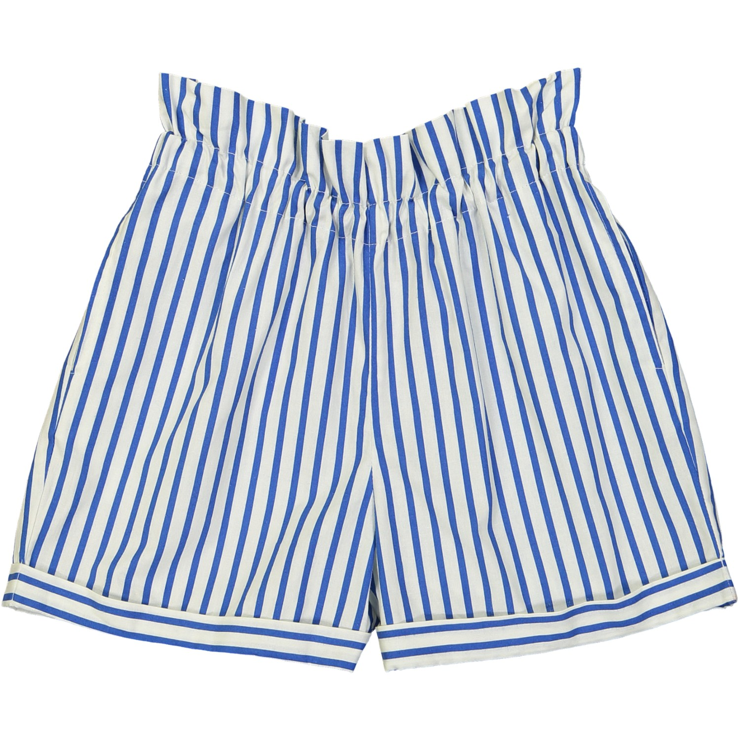 Short Sinta stripes blauw