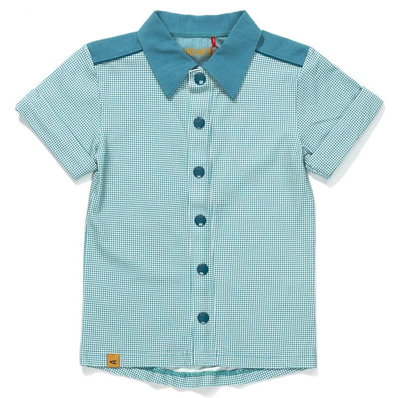 Garfield shirt blue