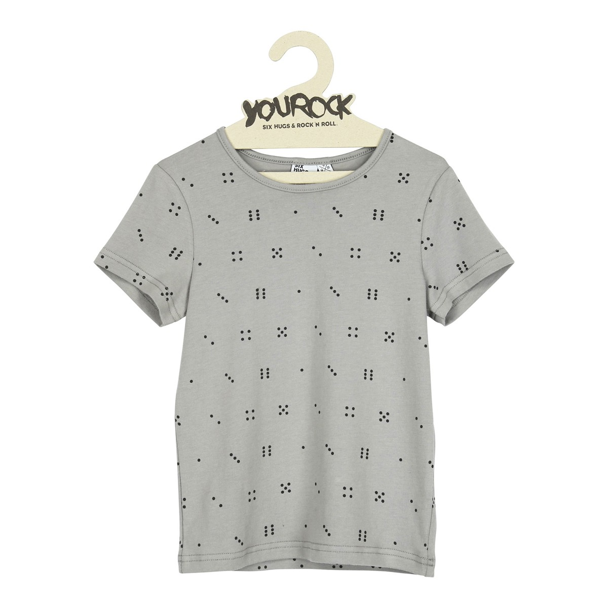 T-shirt Space dice grey