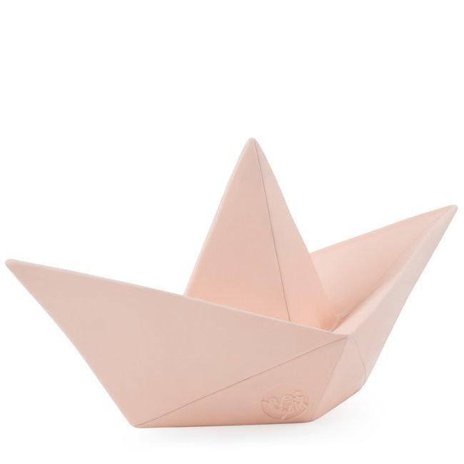 Paper Boat Lamp Pastel Pink