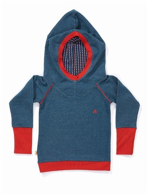 Dorthe hoodie blue