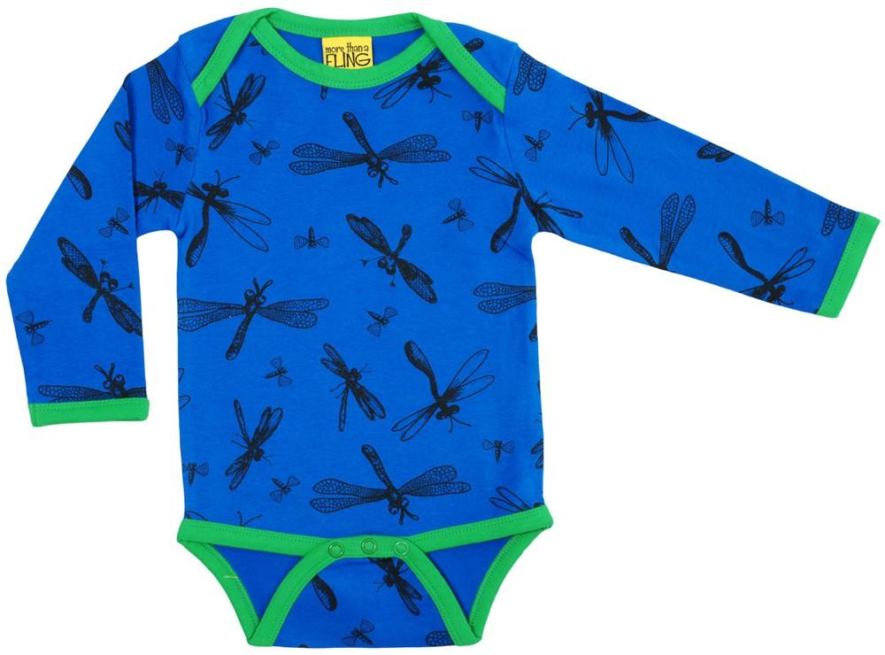Dragonfly blauw body