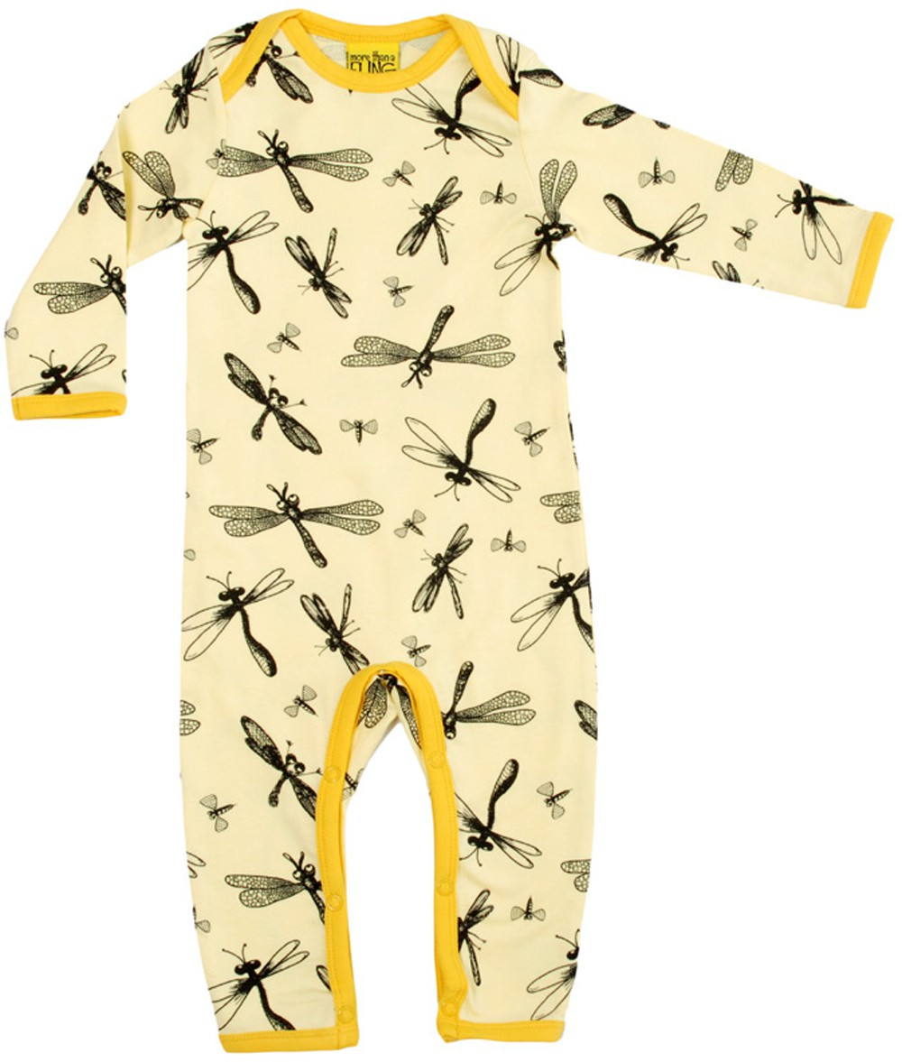 Dragonfly geel jumpsuit