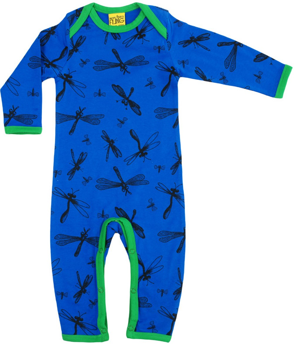 Dragonfly blauw jumpsuit