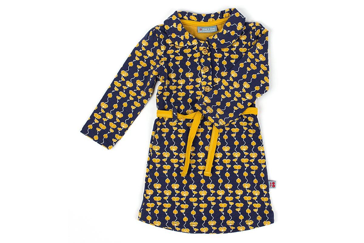 Dress Feline Poppyfield Mustard