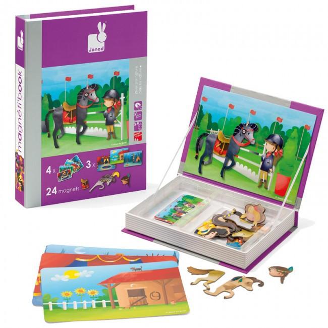 Magneetboek paardrijden