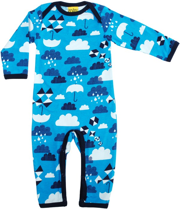 Clouds blauw jumpsuit