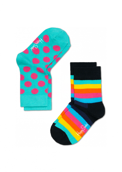 2-pack stripe&dots