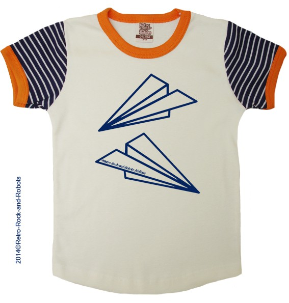 T shirt paperplanes