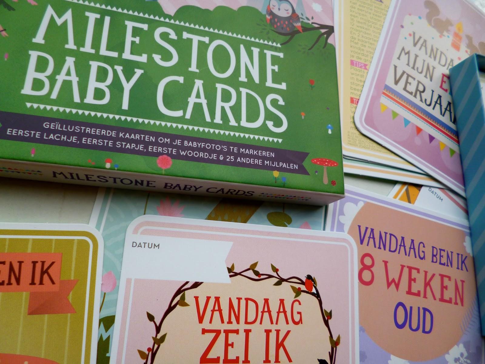 Milestone Baby Kaarten
