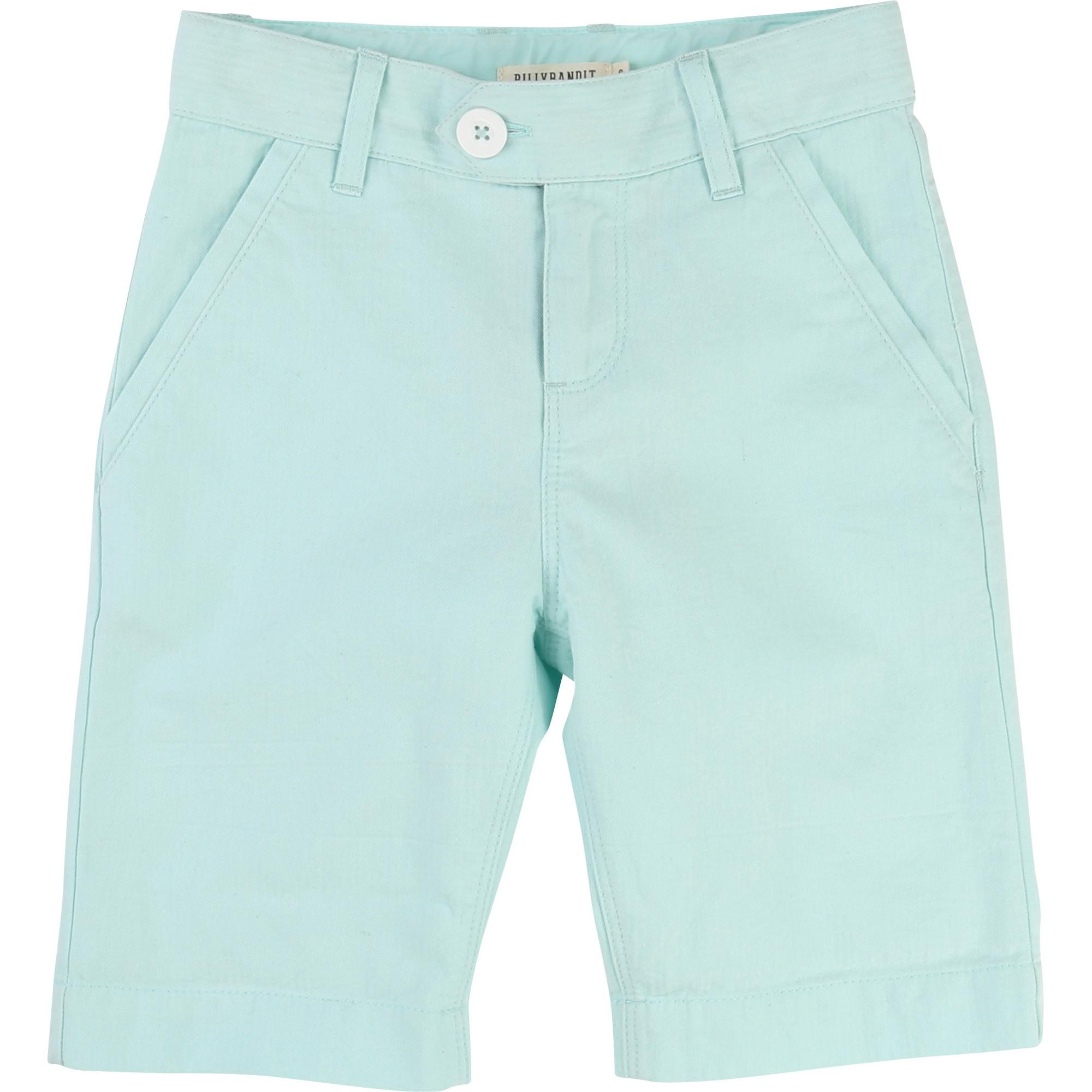 Short Turquoise blanc