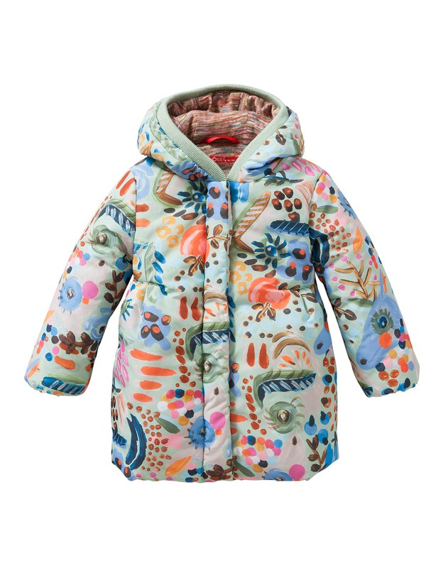 Catalina Coat Painterly
