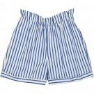 Short Sinta stripes blauw