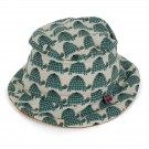 Summer hat turtle