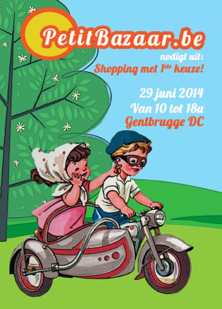 Petit Bazaar 'first choice' shopping op 29 juni 2014