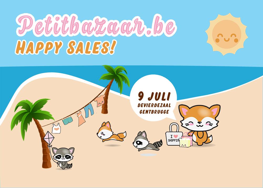 Petit Bazaars *HAPPY SALES* zondag 9 juli