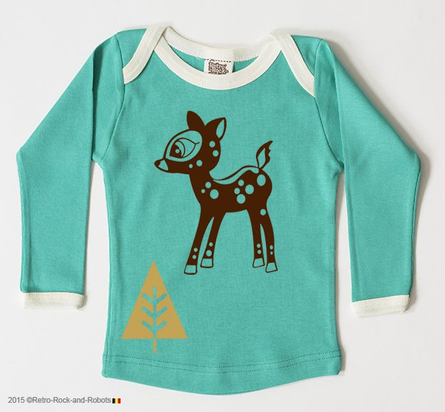 T-shirt bambi opal green