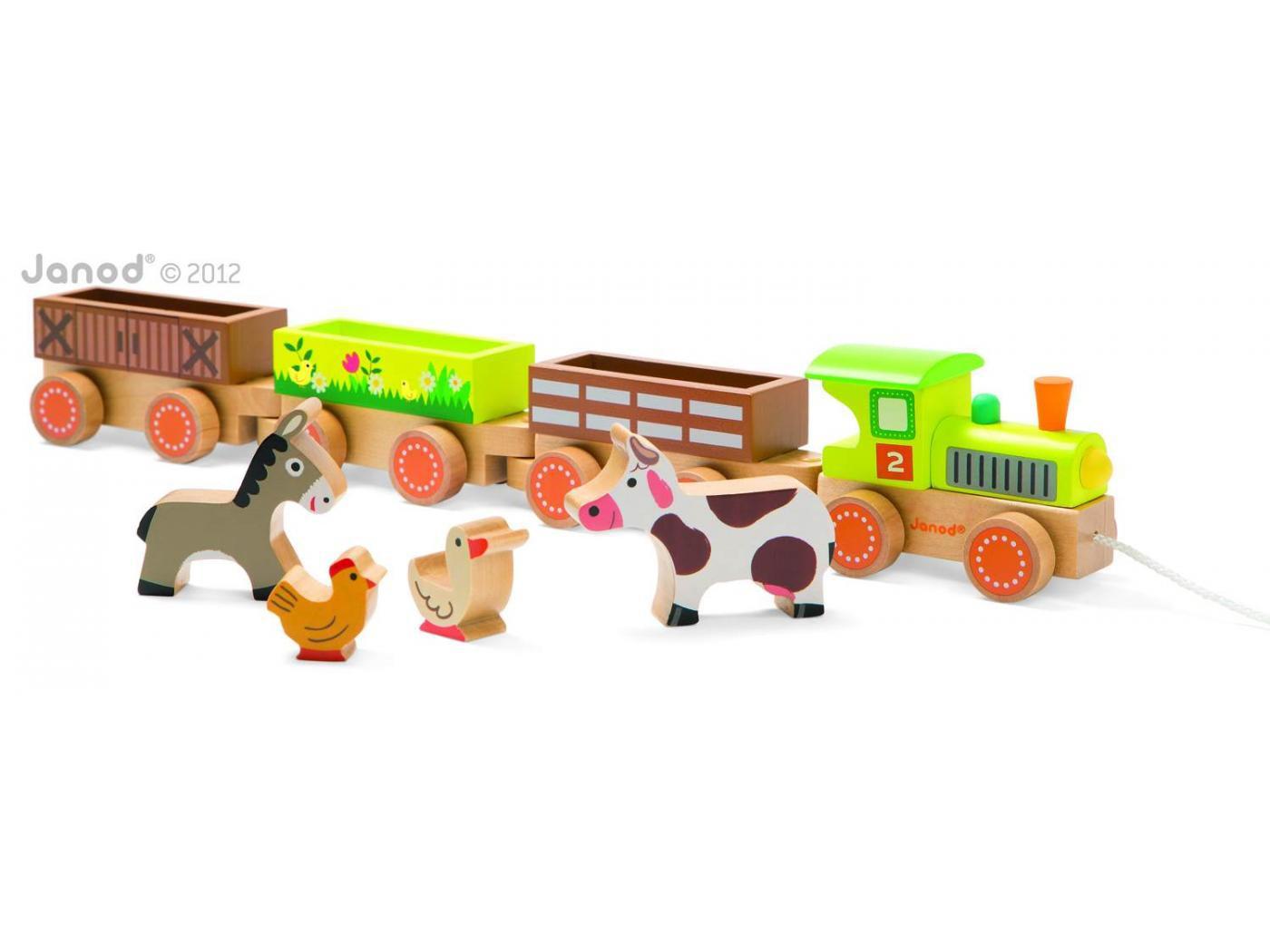 Baby trein boerderij