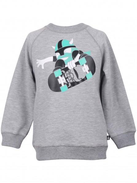 SKATE grijze sweater