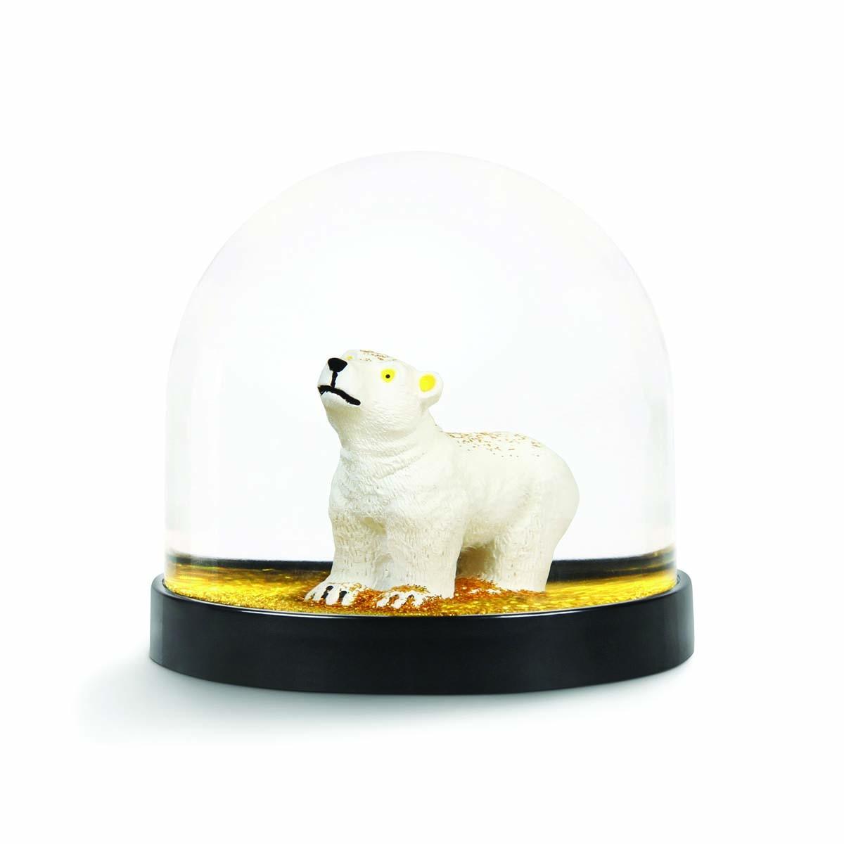 Sneeuwbal ijsbeer goud