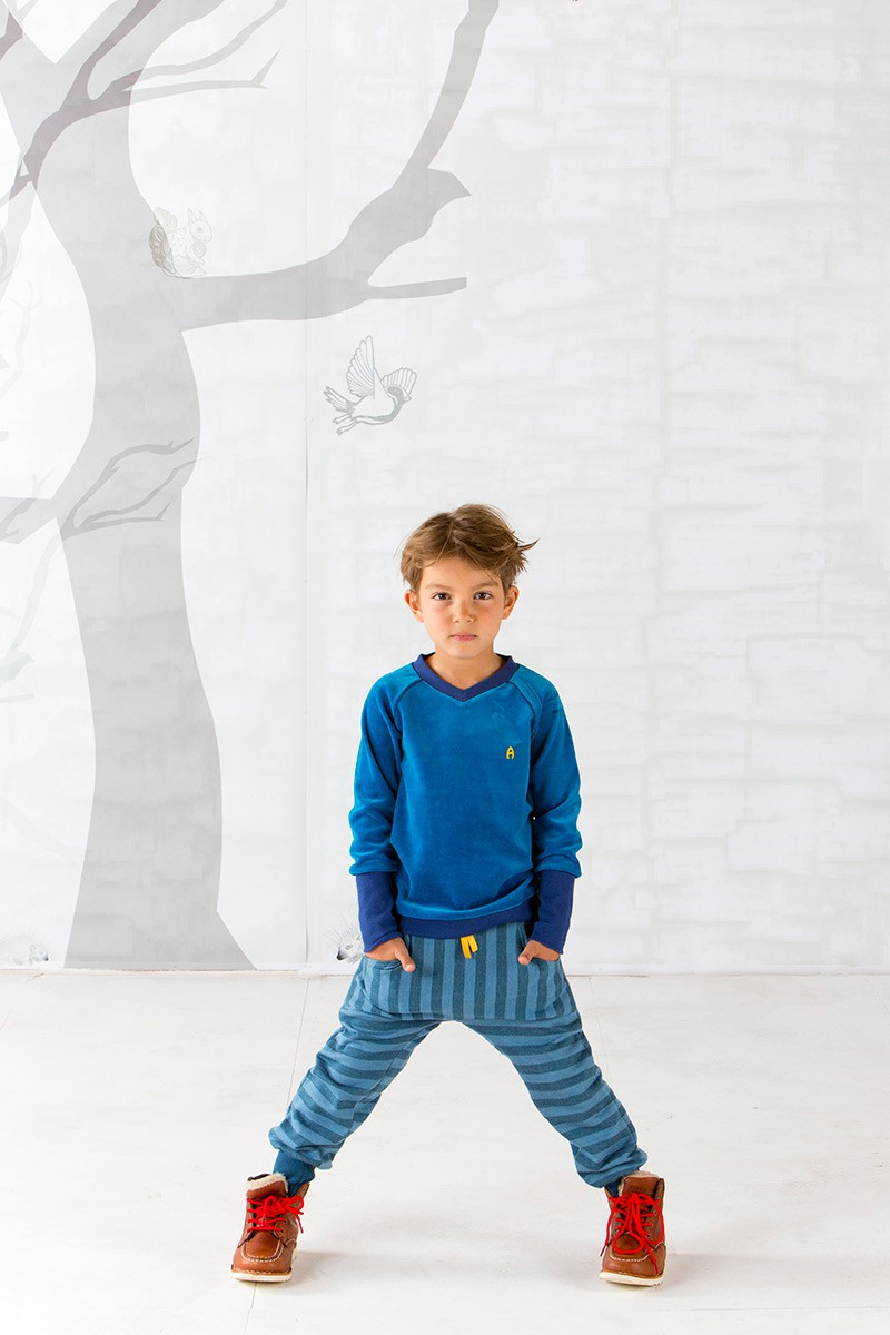 Pullover Domas blauw