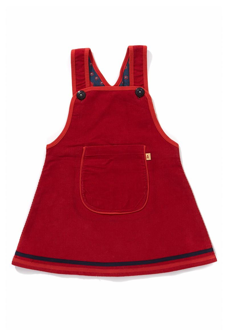 Dy My Spencer kleedje rood