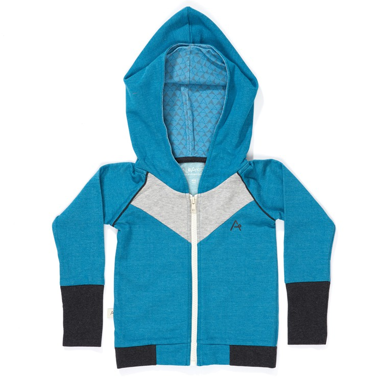 Haldor Zipper Hood Seaport