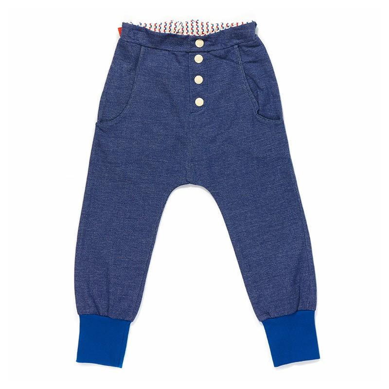 Eddy Pants blauw
