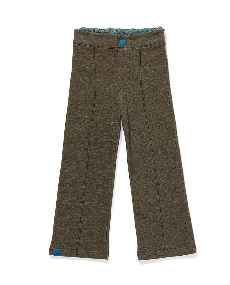 Fegte box pants bruin