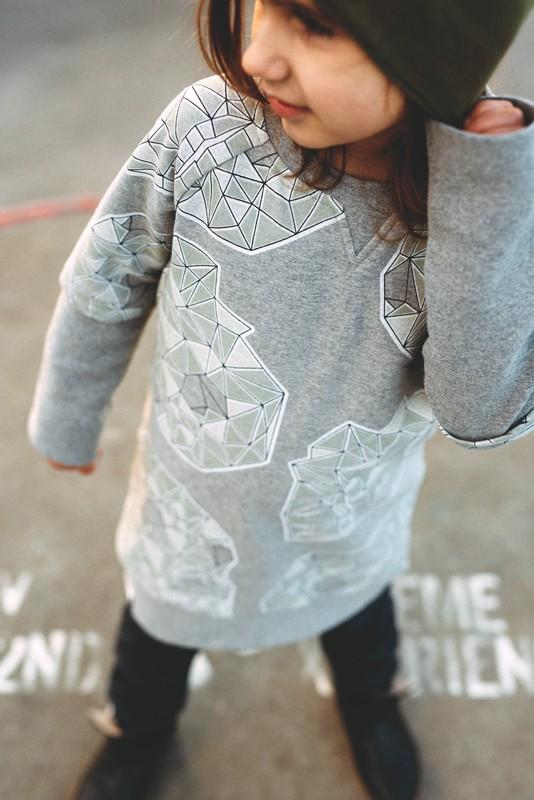Sweaterdress Skull