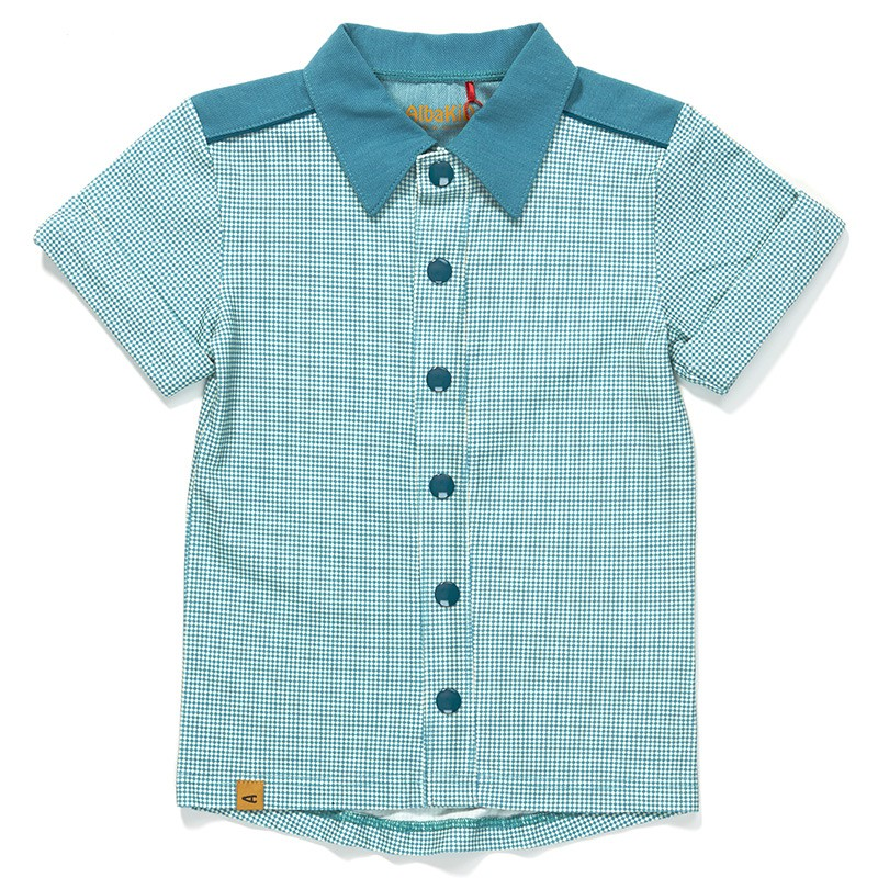 Garfield shirt blue