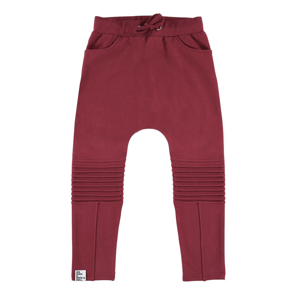 Sweatpants Bikerburgundy
