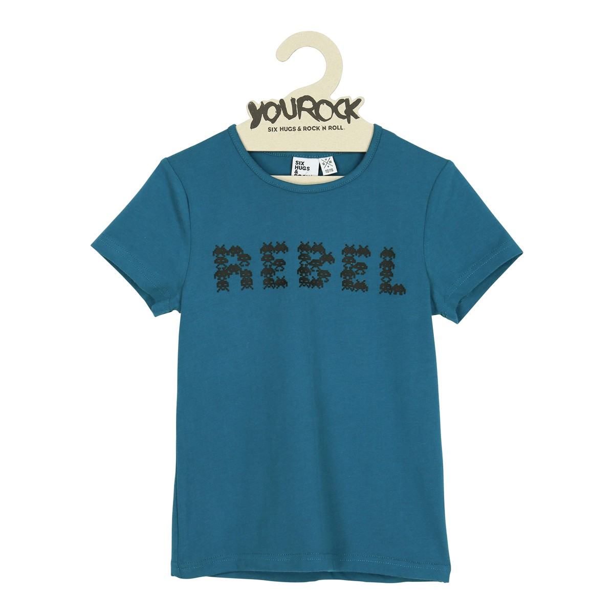 T-shirt Space rebel blue