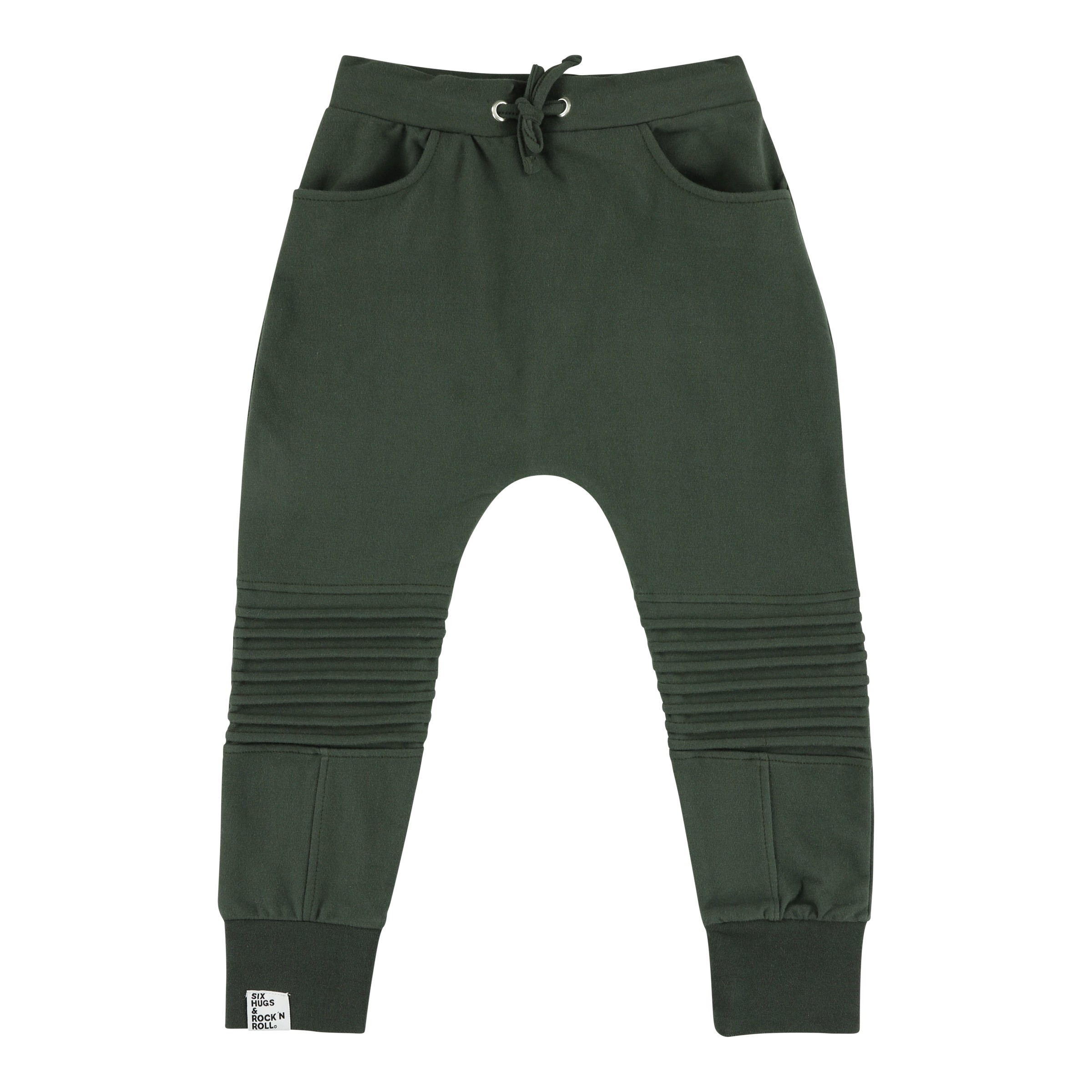 Sweatpants biker green