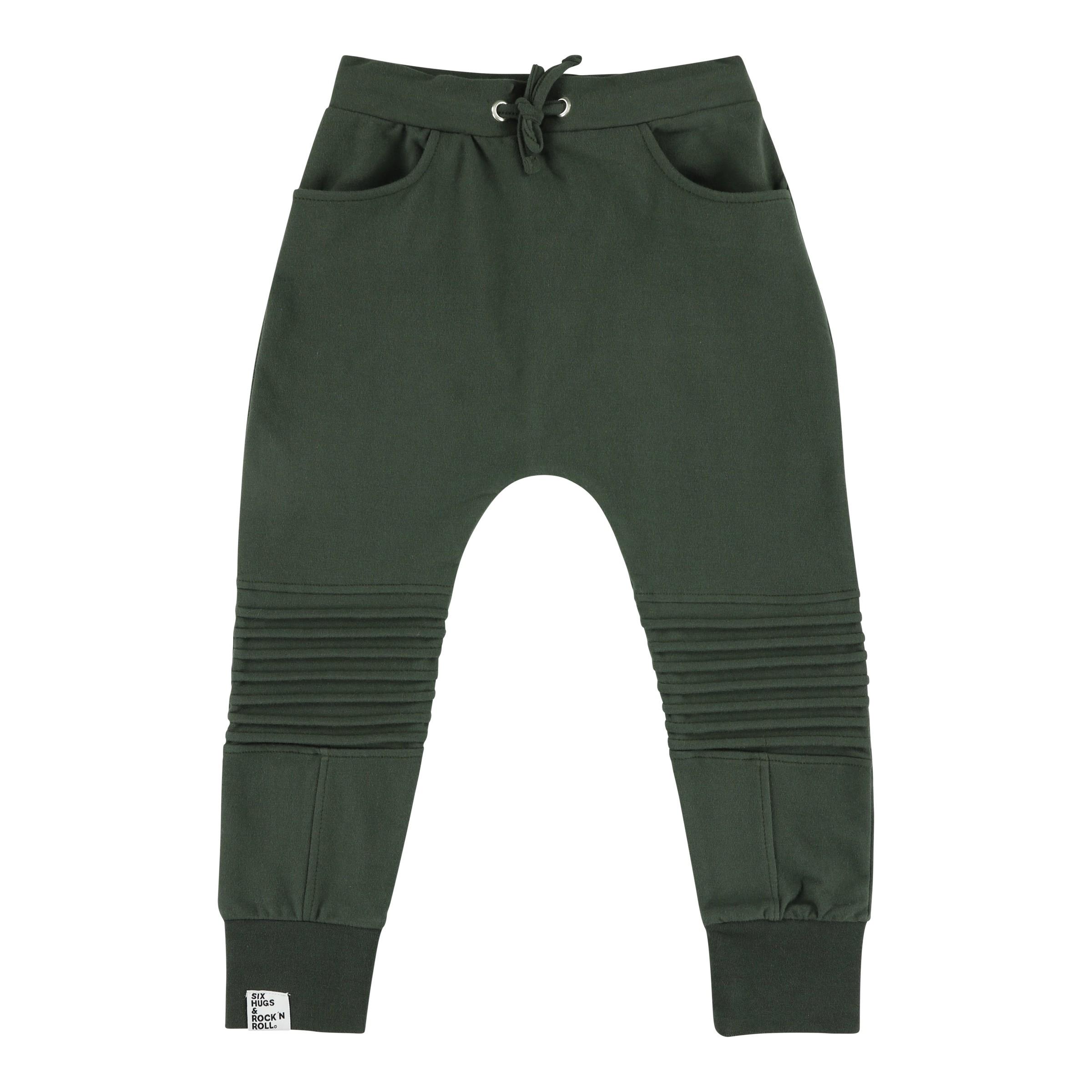 Sweatpants biker green