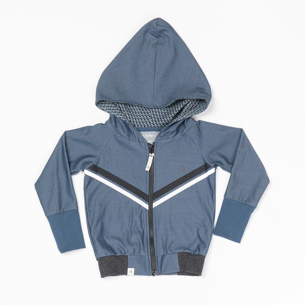 Adam zipper hoodie