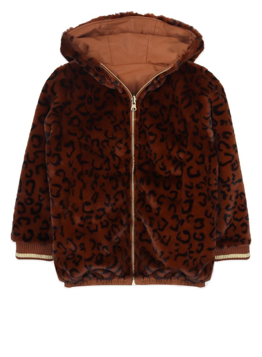Lola leopard jas