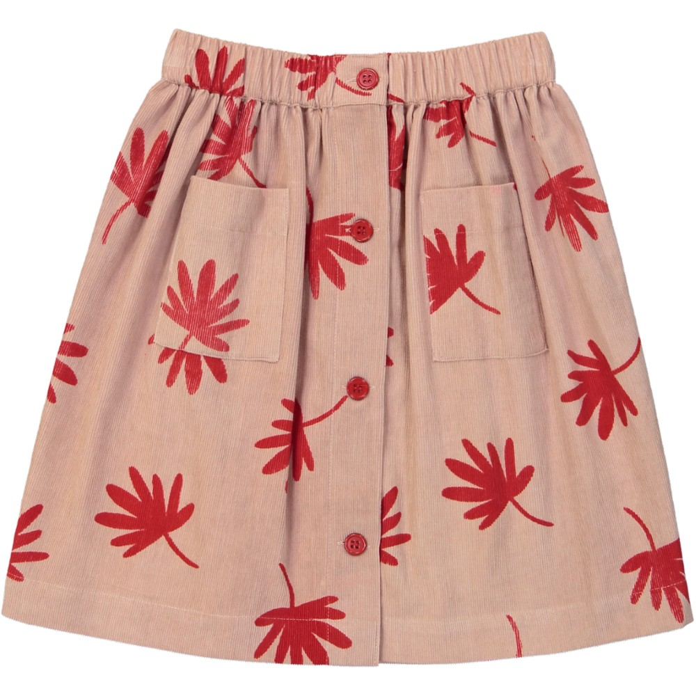 Charlotte skirt leaves