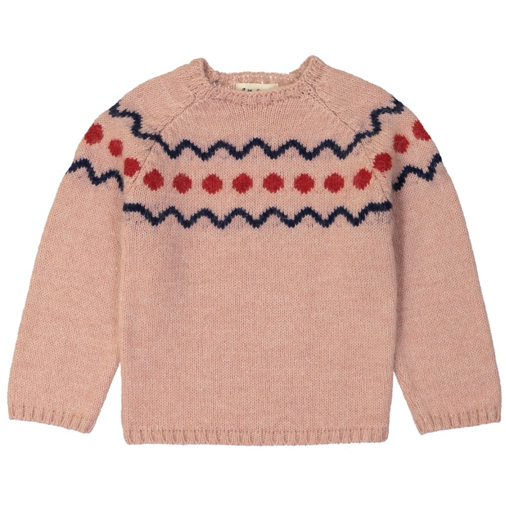 Marmotte sweater rose