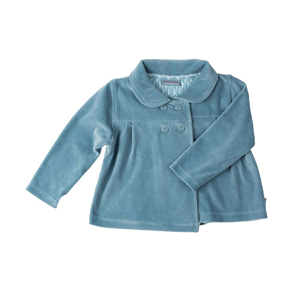 Baby Jacket smokey blue